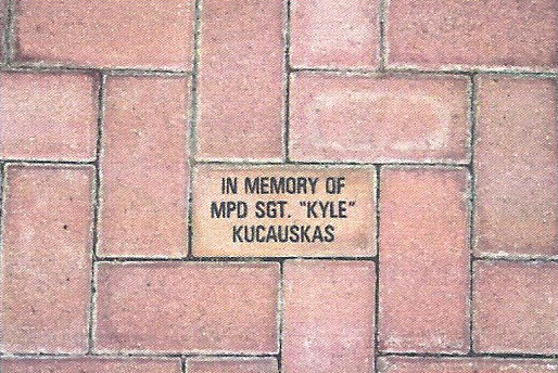 "In Memory of MPD SGT. ""Kyle"" Kucauskas"