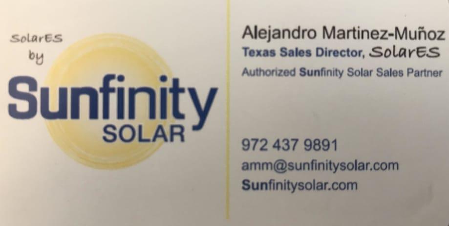 Sunfinity SolarES