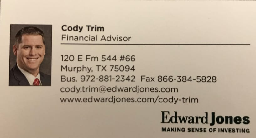 Edward Jones - Cody Trim