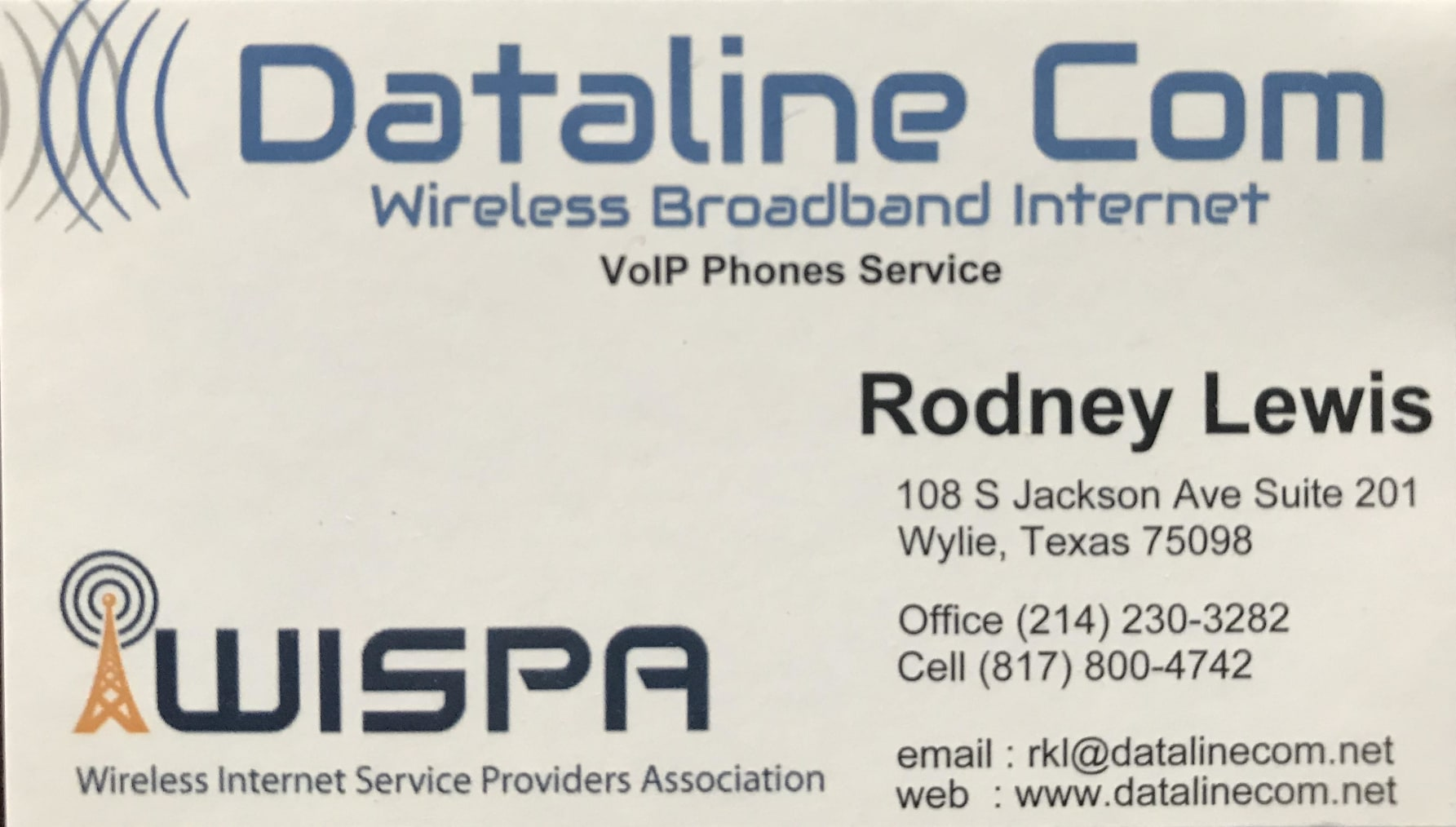 Dataline Communications - Rodney Lewis