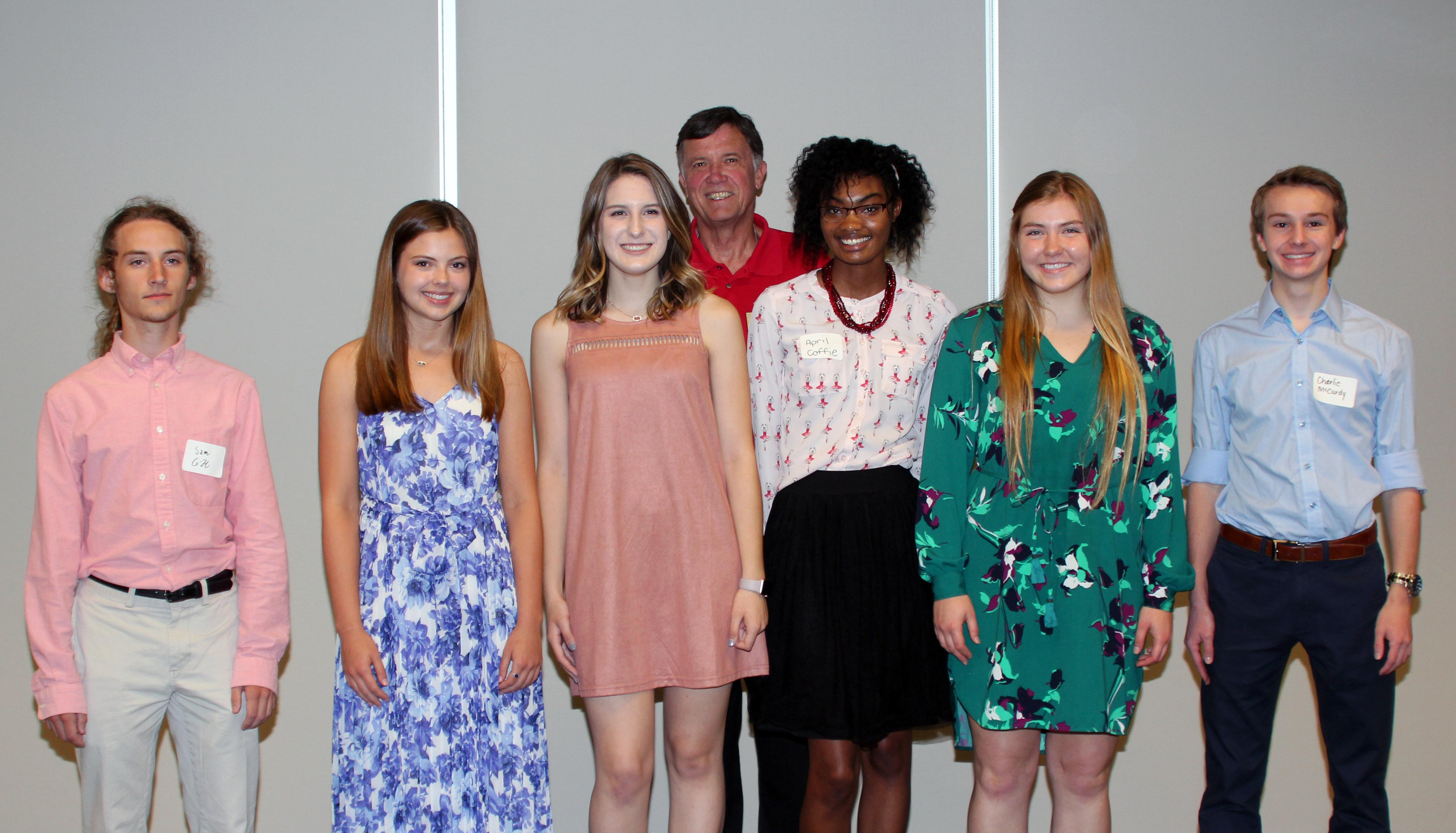 2017 Scholarship Foundation Recipients