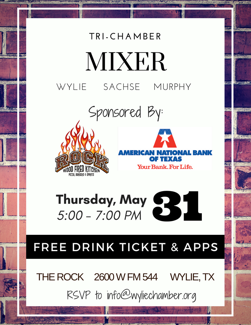 Join us for a Tri-Chamber Mixer Event!