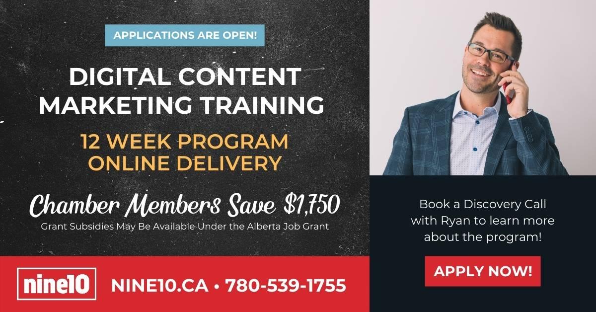 Nine 10, Digital Market Content Training