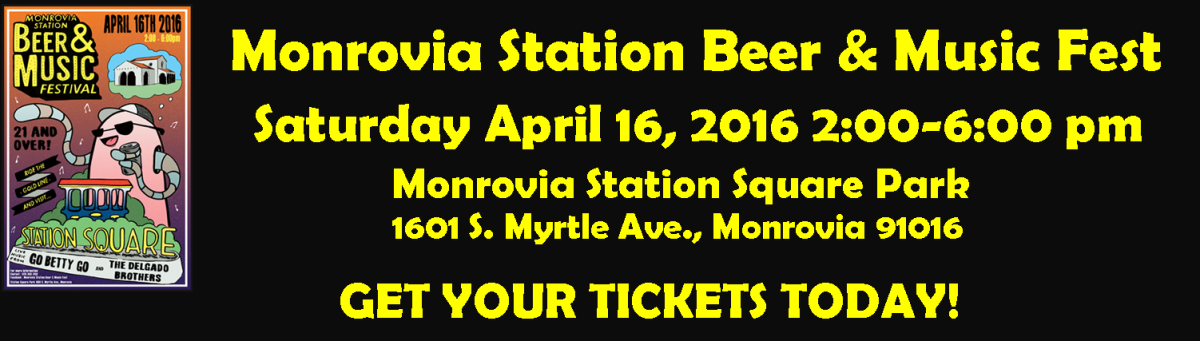 Monrovia Station Beet & Music Fest. Click here to get your tickets