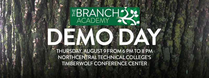 Demo Day to be held on Thursday, August 9, 2018.