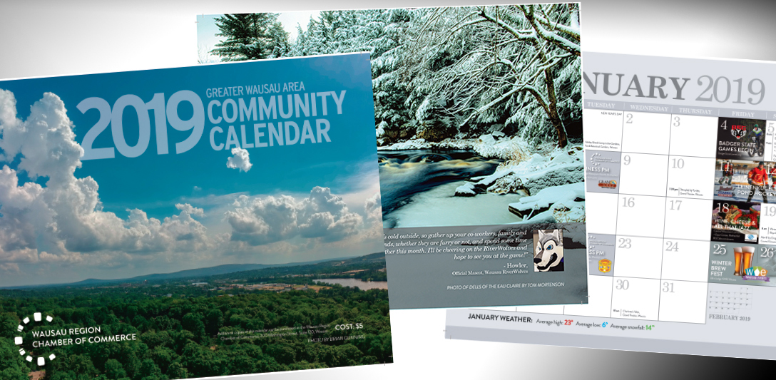 2019 Community Calendar for the Greater Wausau Area