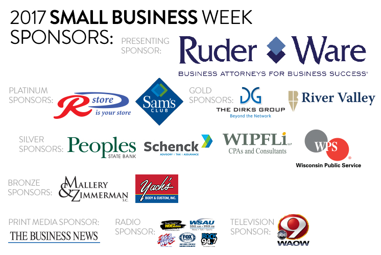2017 Small Business Week Sponsors