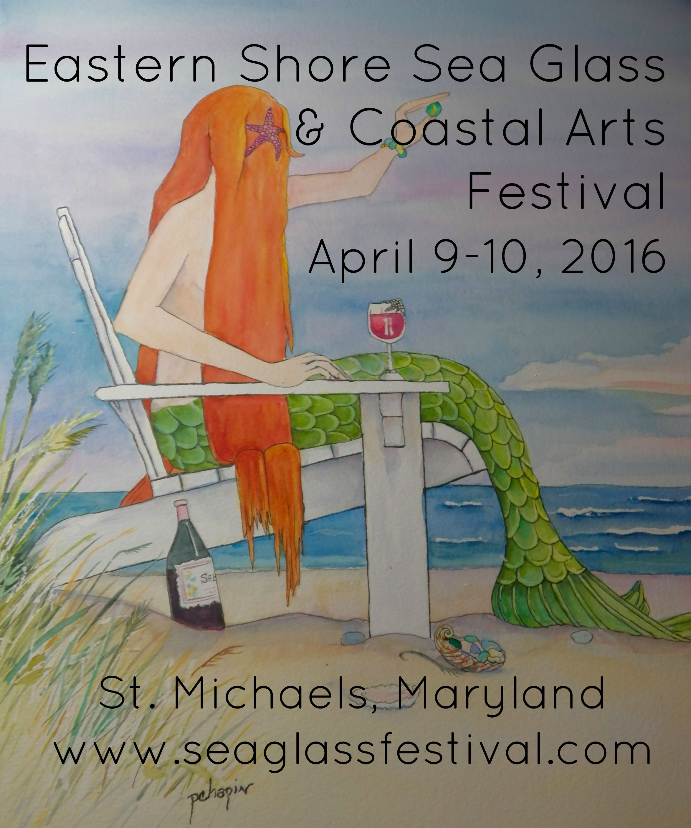 Eastern Shore Sea Glass and Coastal Arts Festival