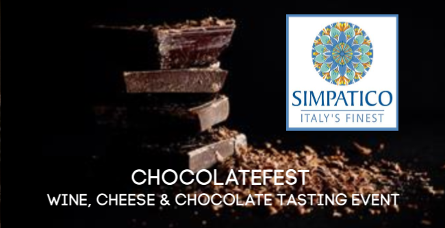 Simpatico ChocolateFest Tasting Event