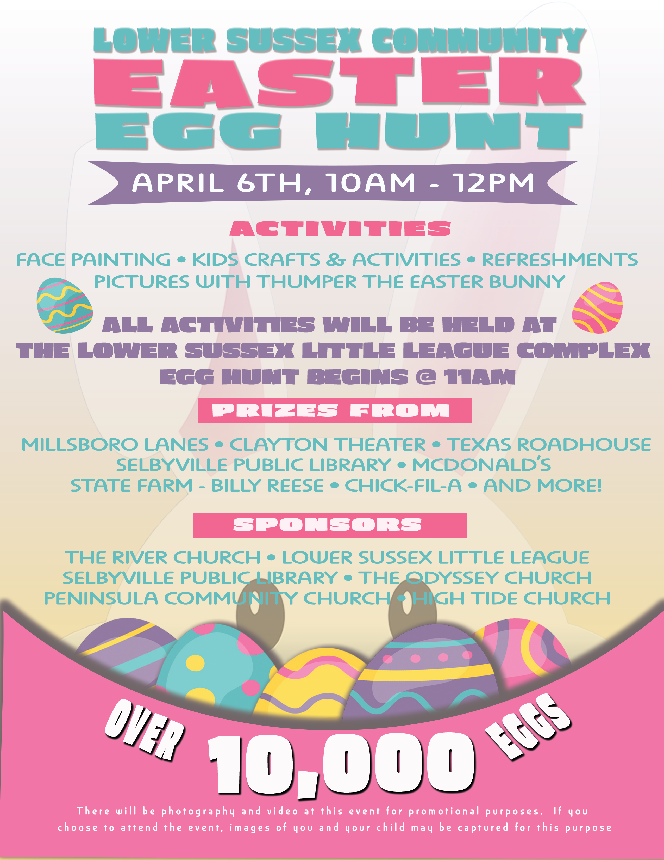 Lower Sussex County Easter Egg Hunt