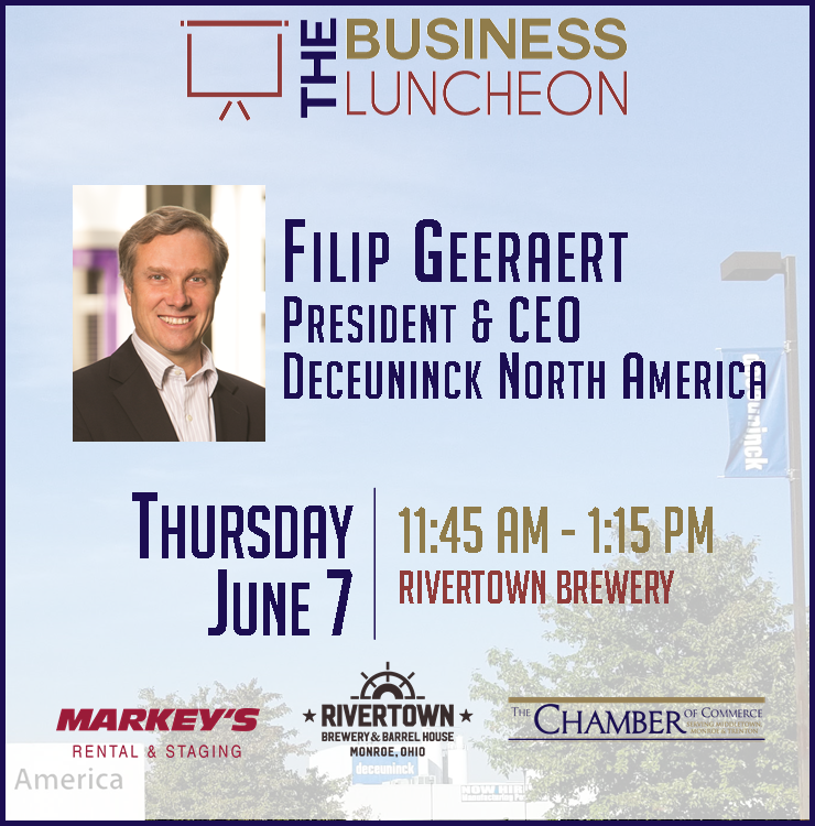 Deceuninck North America; Monthly Business Luncheon; Chamber of Commerce
