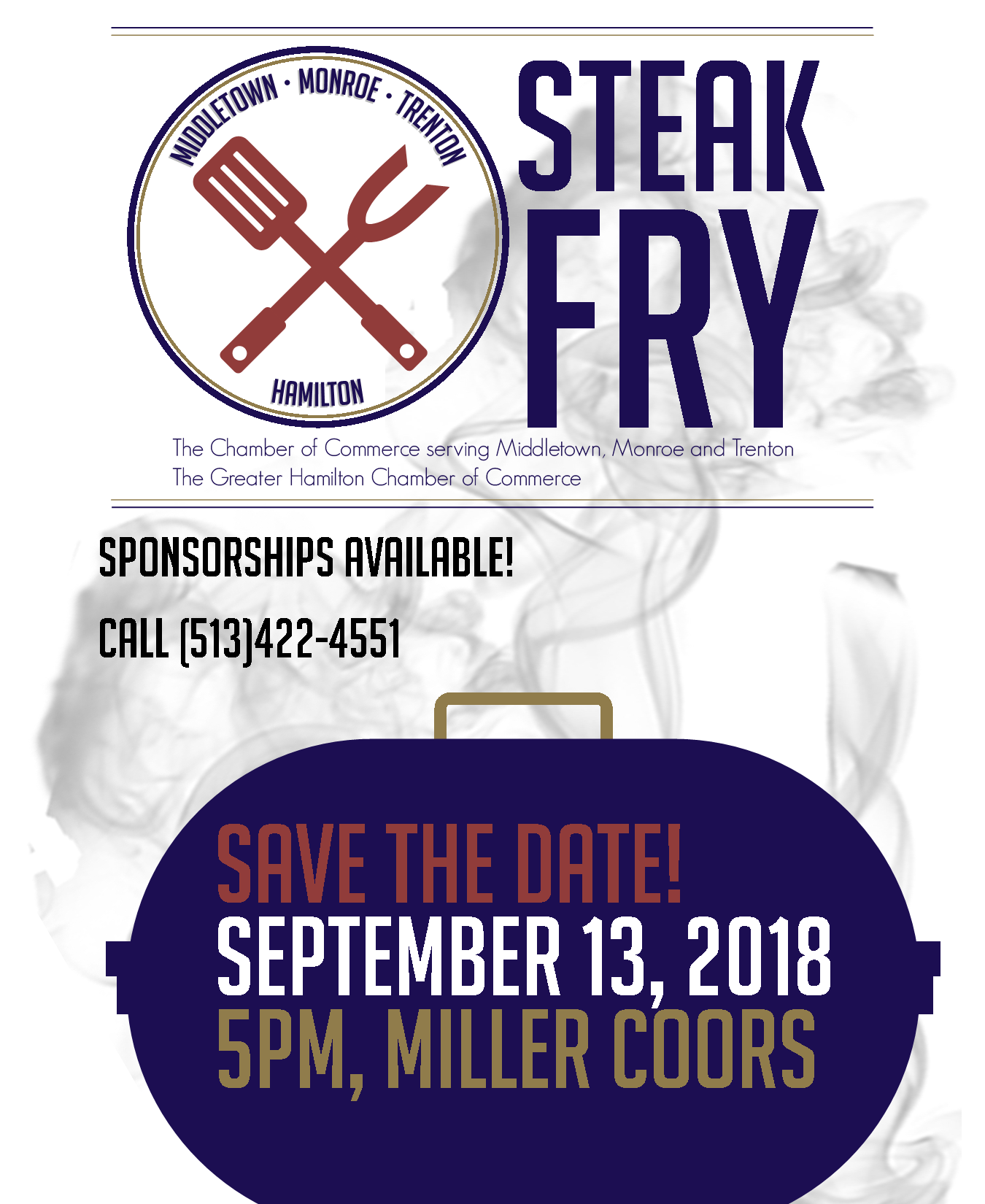 Save the Date Steak Fry