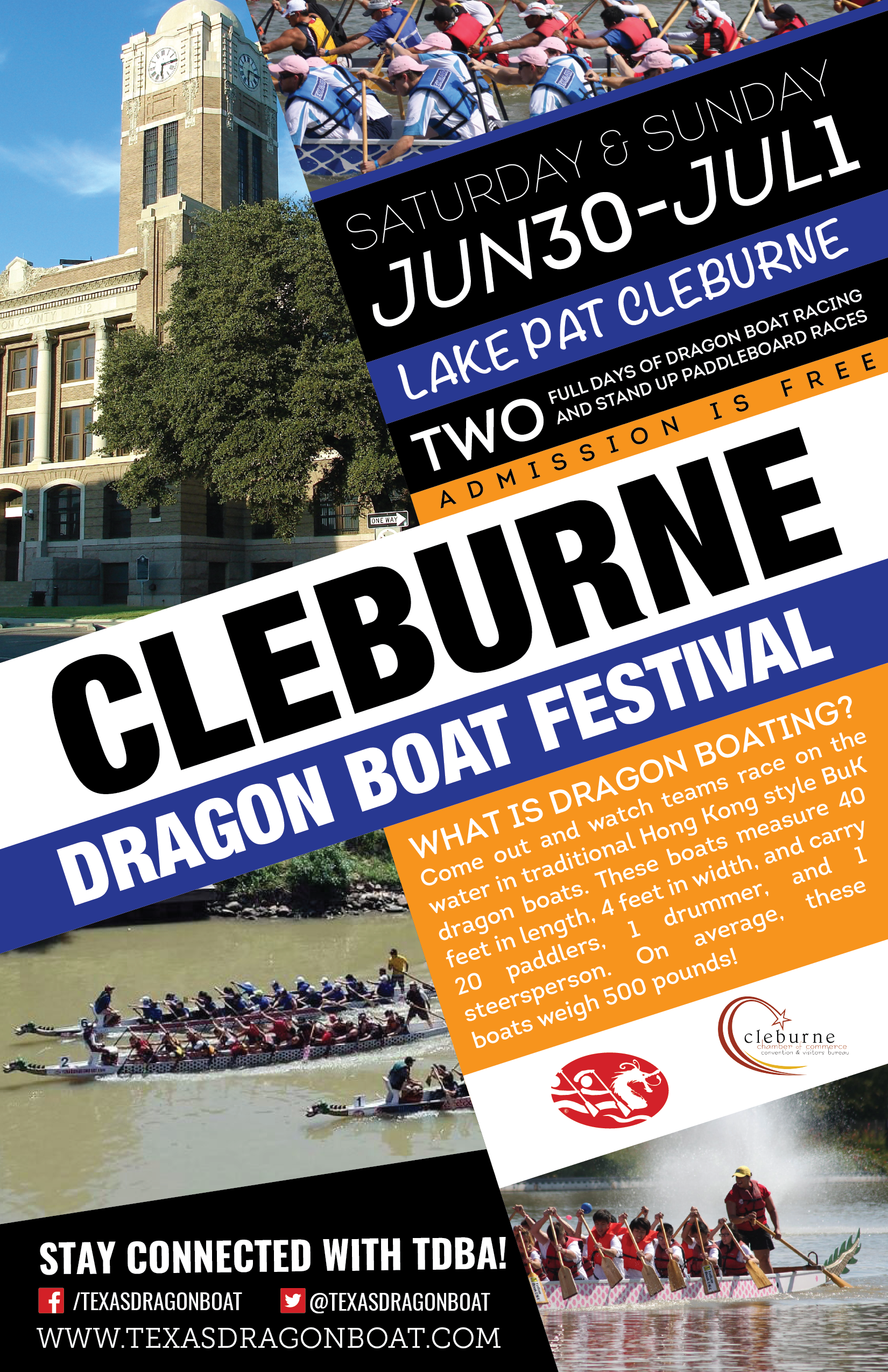 Dragon Boat Festival, Racing, Lake Pat Cleburne, Paddle Board Races