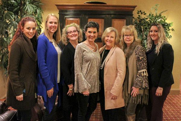 From Left to Right: Stacey Greenawalt, Tara Janszen, Dena Bartlett, Cathy Marchel, Jackie Saylors, Melinda Finnell, Heather Juarez