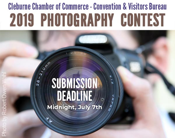 2019 Photography Contest, Cleburne Chamber of Commerce & Convention & Visitors Bureau