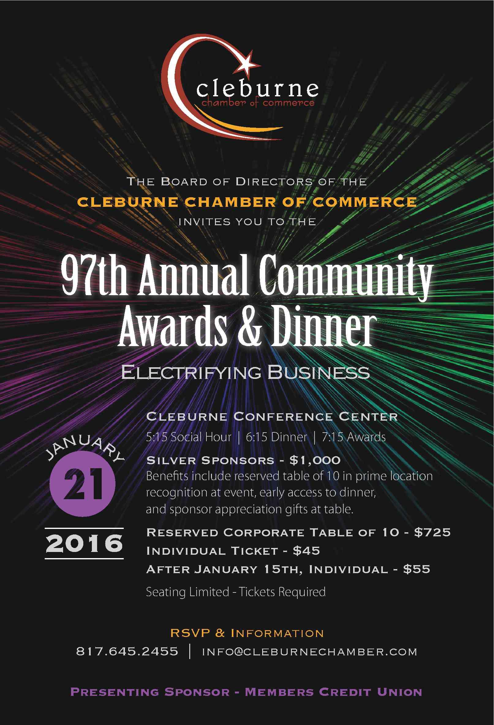 97th Annual Community Awards & Dinner