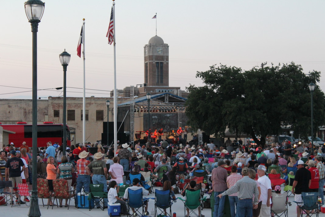 Concert at Market Square