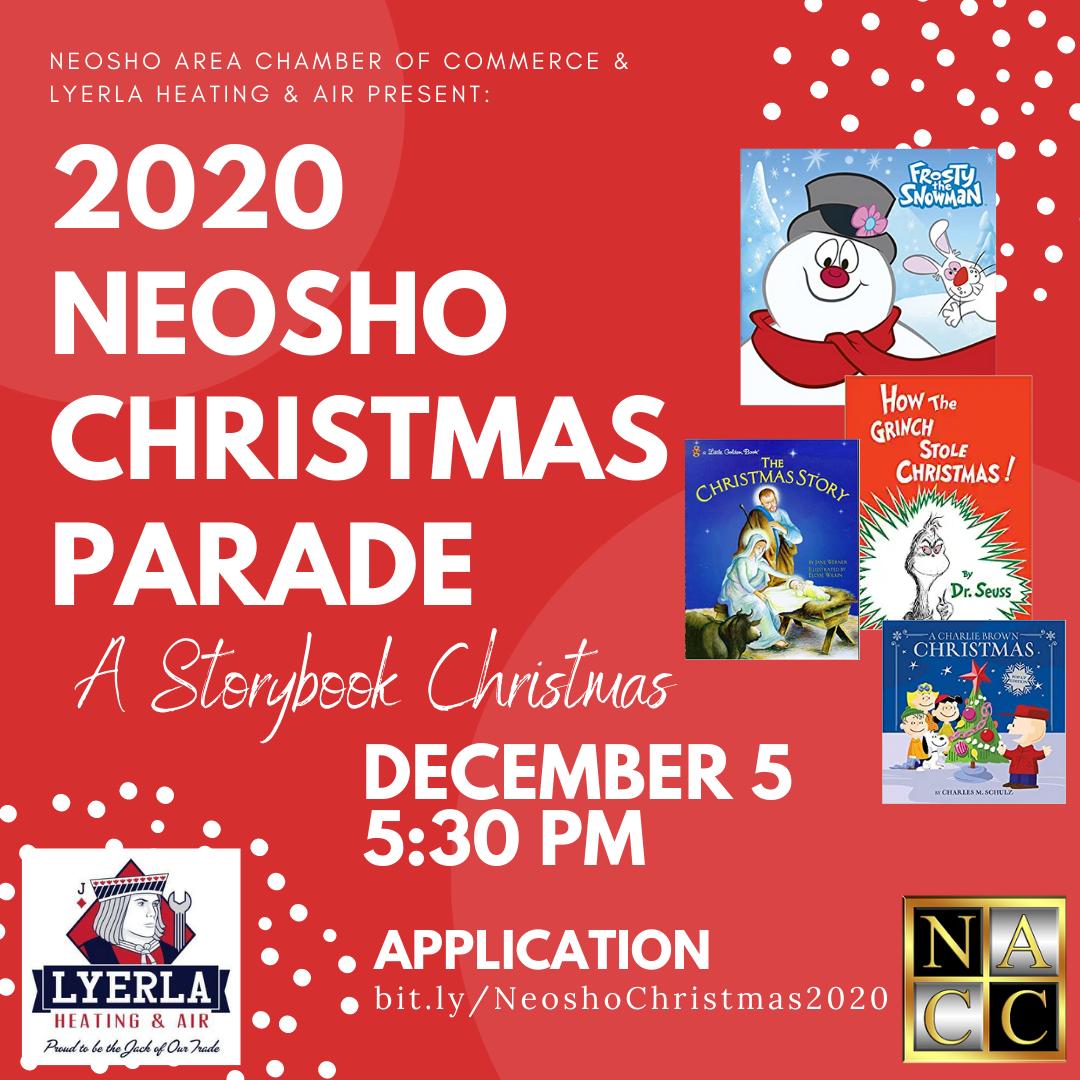 Neosho Christmas Parade 2020 Christmas Parade Registration   Neosho Area Chamber of Commerce, MO
