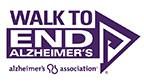 Image result for walk to end alzheimer's logo