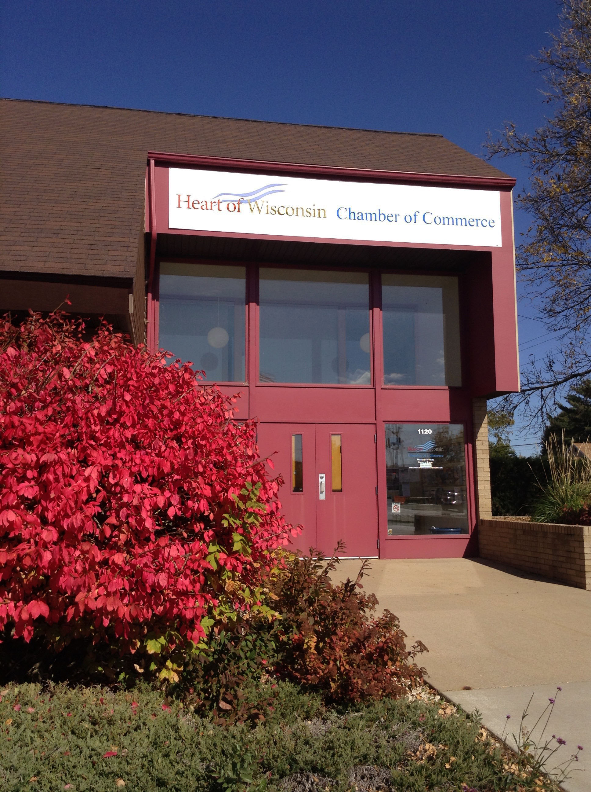 Heart of Wisconsin Chamber Office