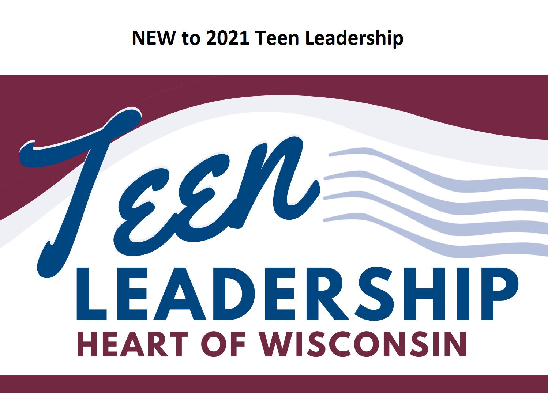 New to 2021 Teen Leadership