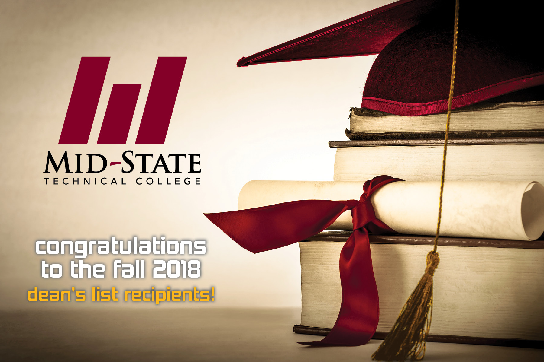 17e1bdd2914bb WISCONSIN RAPIDS – Mid-State Technical College has announced its Dean s  List for the 2018 fall semester. This recognition is reserved for Mid-State  students ...