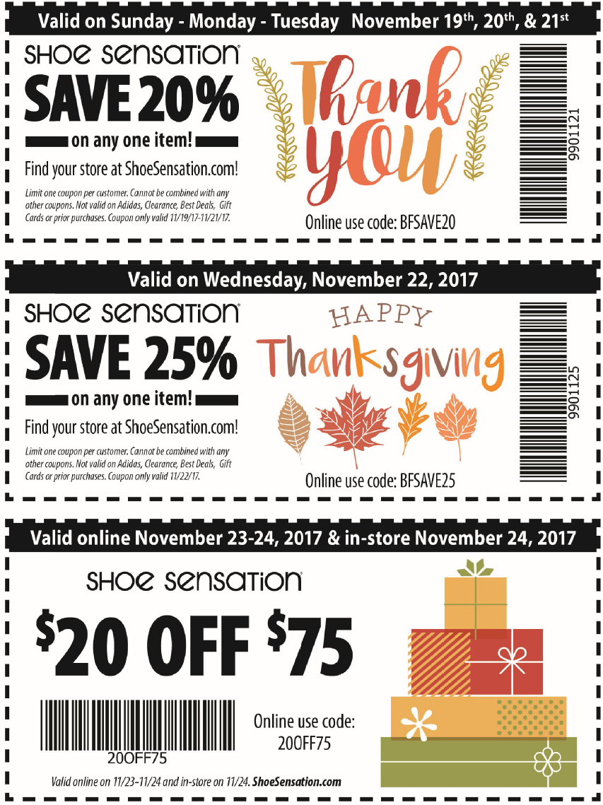 picture about Shoe Sensation Coupons Printable named Shoe Emotion Coupon codes, Promo Codes Promotions
