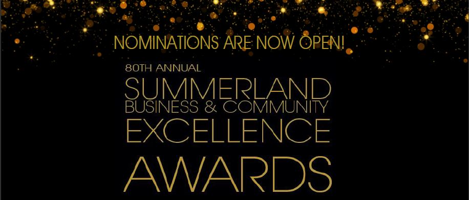 Nominations for 2018 Summerland Business and Community Awards are now open!