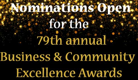 Nominate your favourite person or business for the Business & Community Excellence Awards