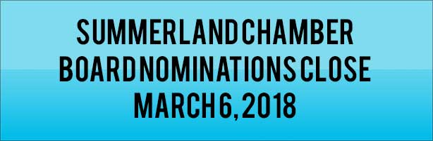 Summerland Chamber of Commerce Board of Directors Nominations