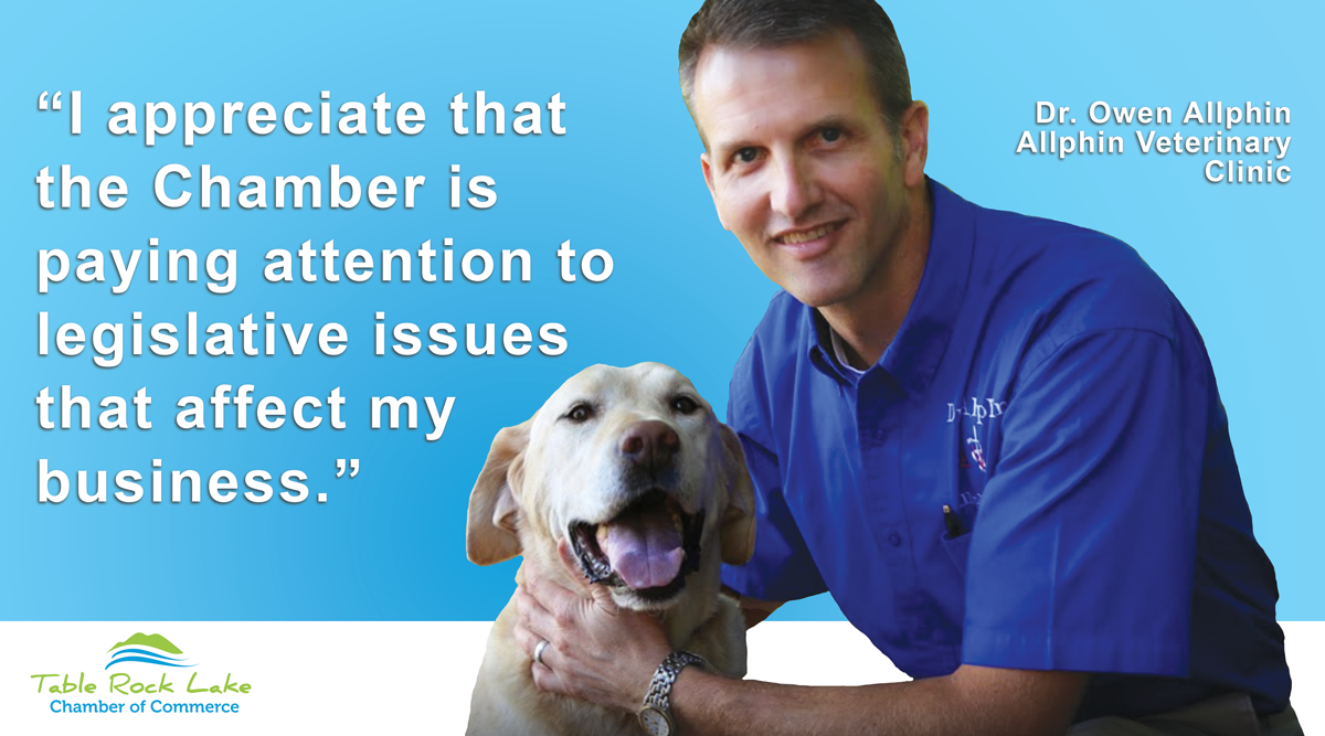 Allphin Veterinary Clinic why I'm a Chamber member.