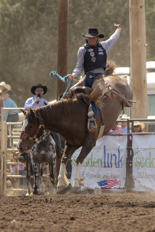 payson pro rodeo bronc rider