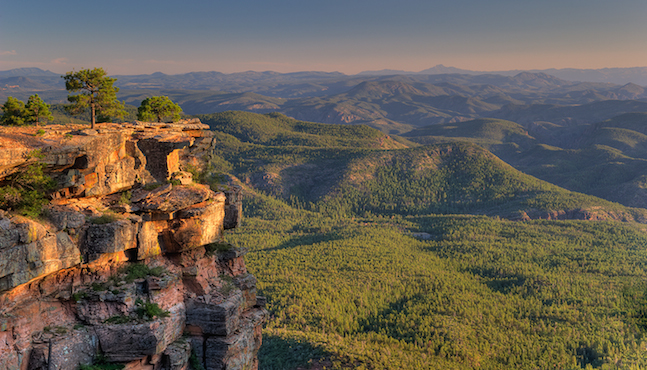 rim country regional mogollon rim
