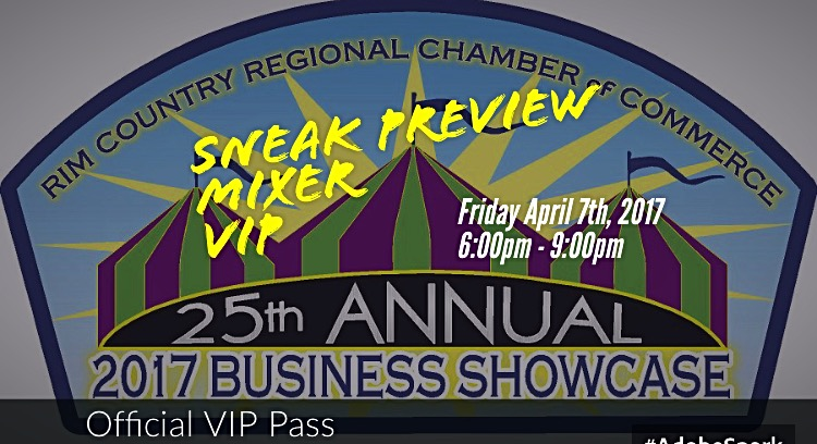 Rim Country Regional Chamber Sneak Preview mixer 2017