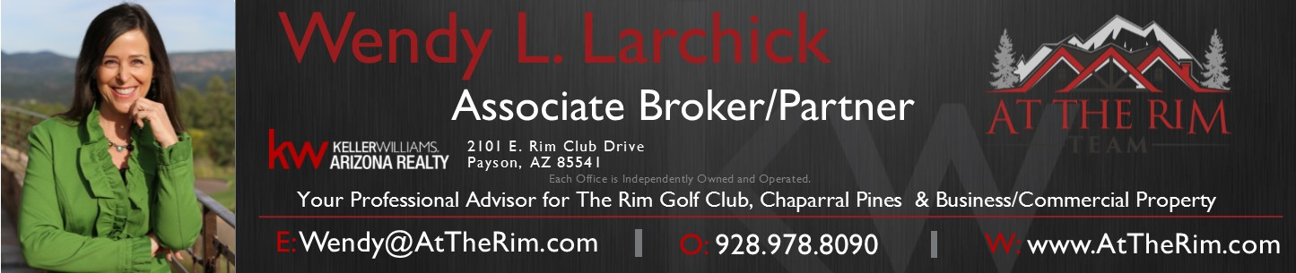 rim country regional chamber wendy larchick at the rim team keller williams