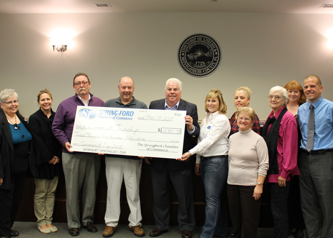Limerick Community Day Donation to Township