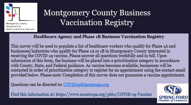 Business Vaccine Registry