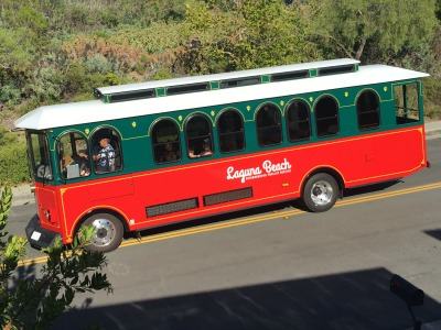 Laguna Beach Neighborhood Trolley