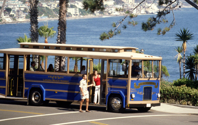 Laguna Beach Summer Trolley