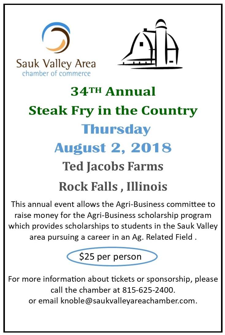 34th Annual Steak Fry