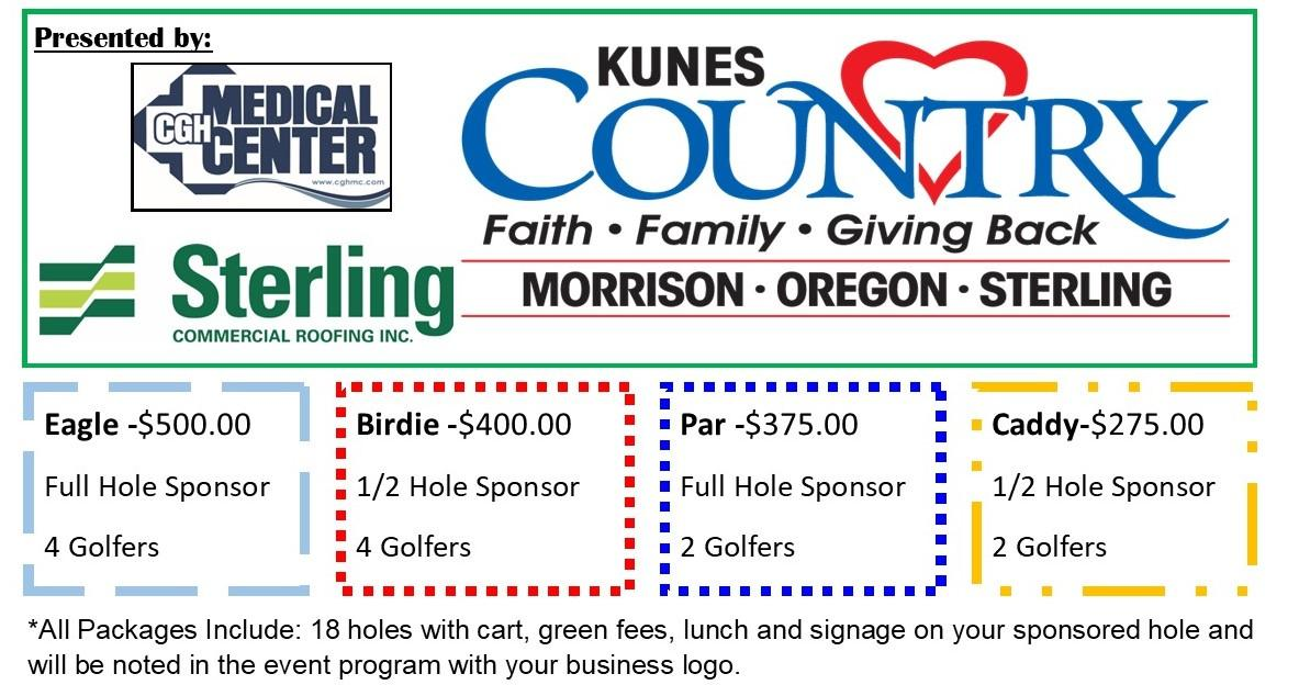 Golf Outing Sponsorship & Player Registration