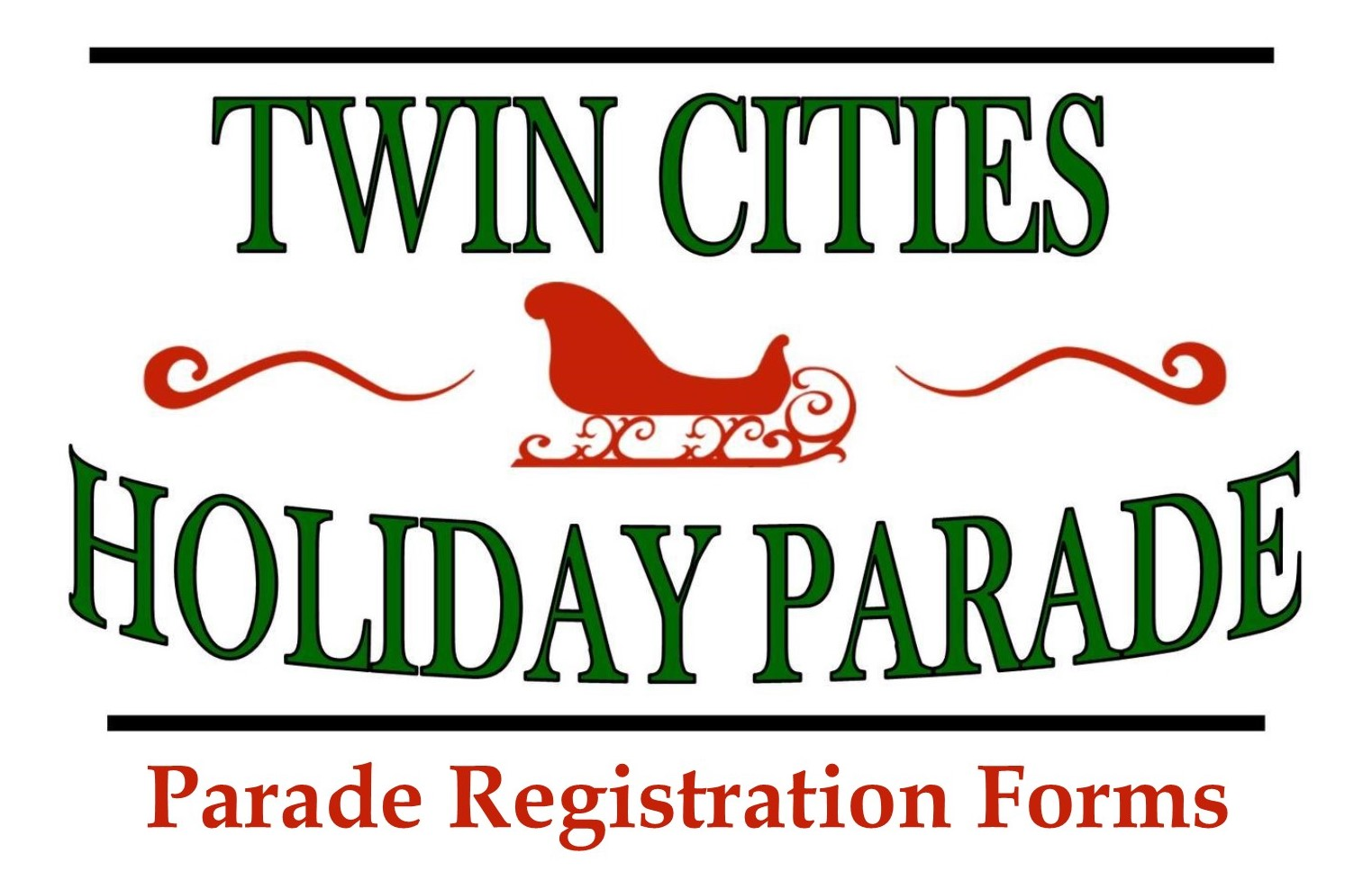Twin Cities Holiday Parade registration form