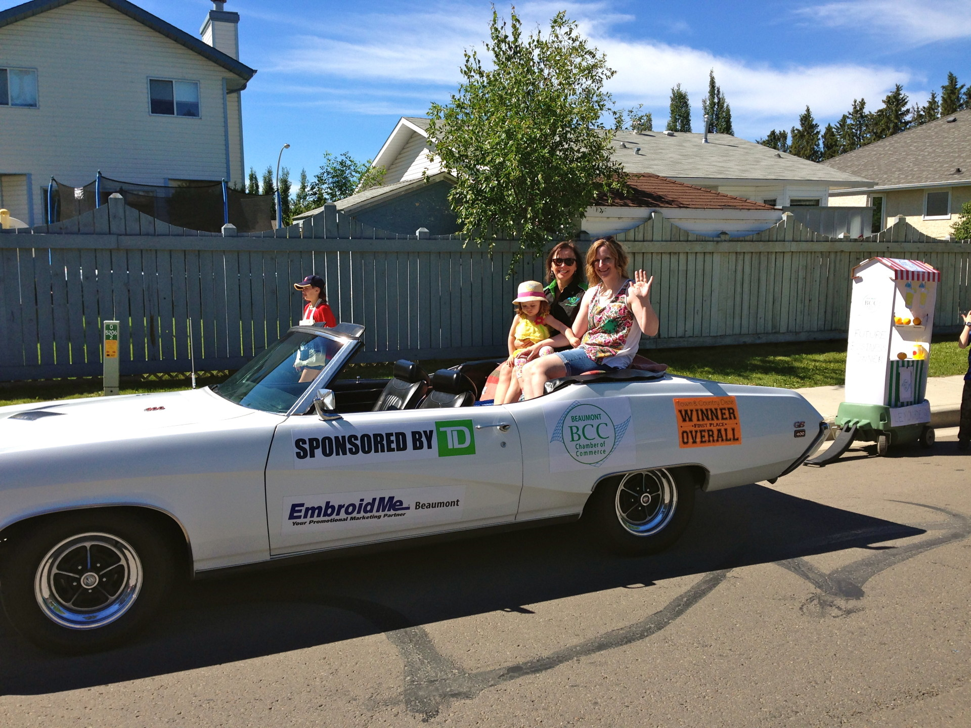 Chamber_of_Commerce_President_and_Executive_Assistant_in_Classic_Car_Pulling_Winning_Float.jpg