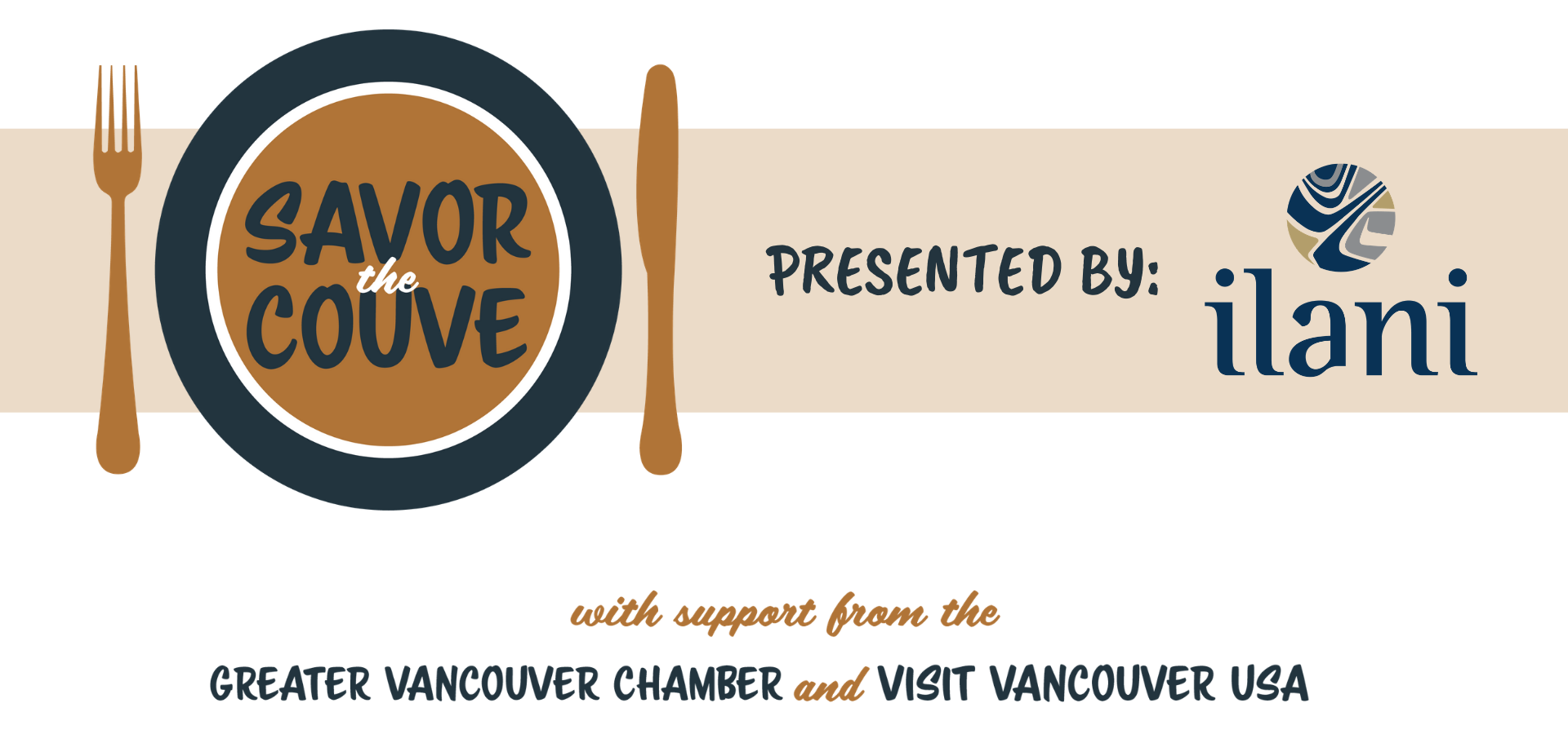 with support from the greater vancouver chamber and visit vancouver usa savor the couve PRESENTED BY ILANI