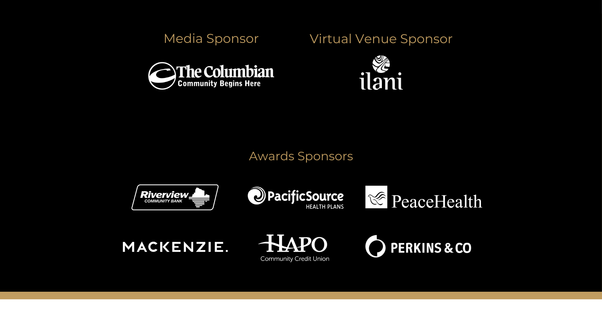 sponsors bla media virtual venue awardss