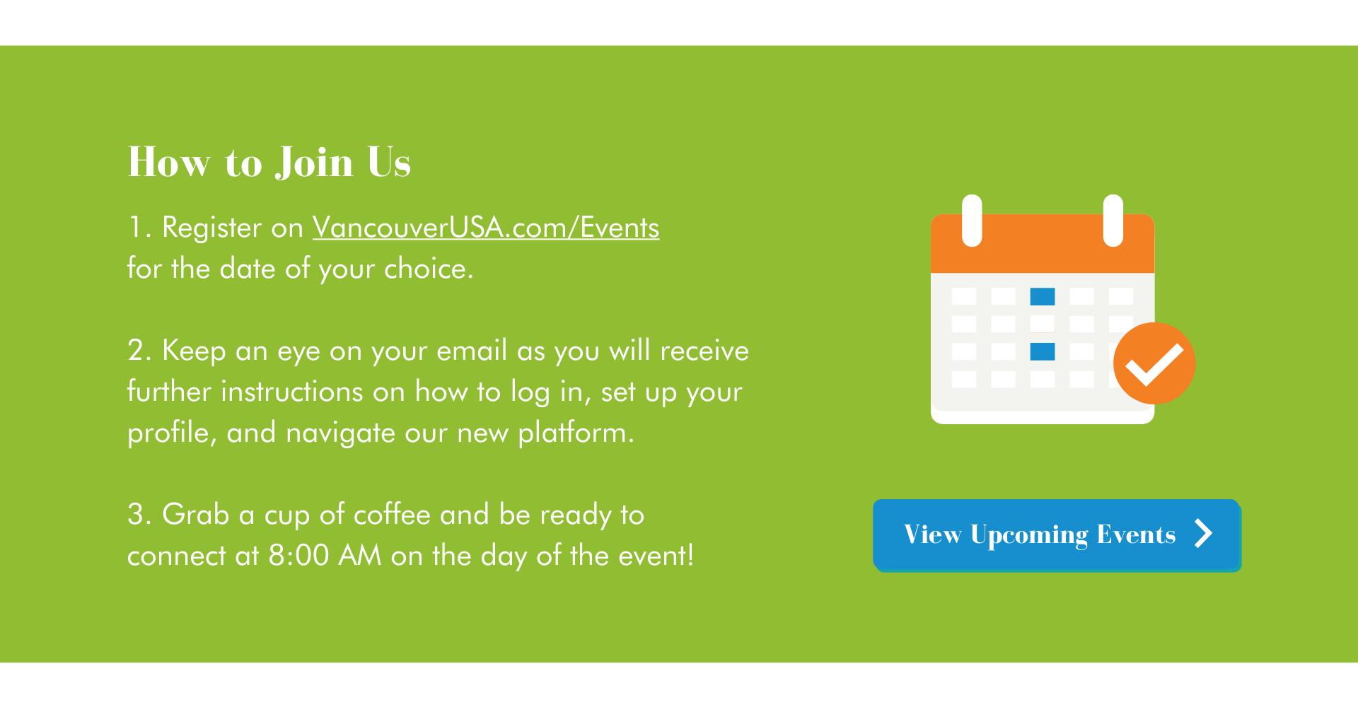 how to join us vancouverusa.com/events calendar link cta