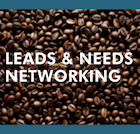 Leads and Needs Networking Event Call to Action