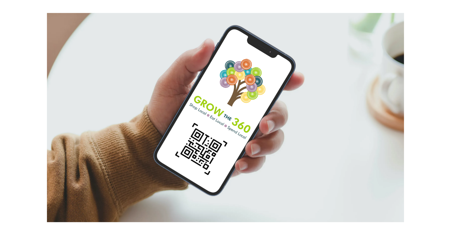 image of grow the 360 qr code