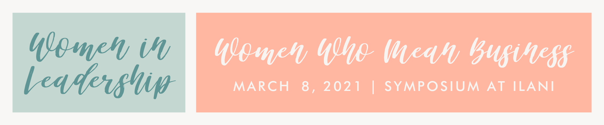 women who mean business march 8 symposium at ilani in leadership