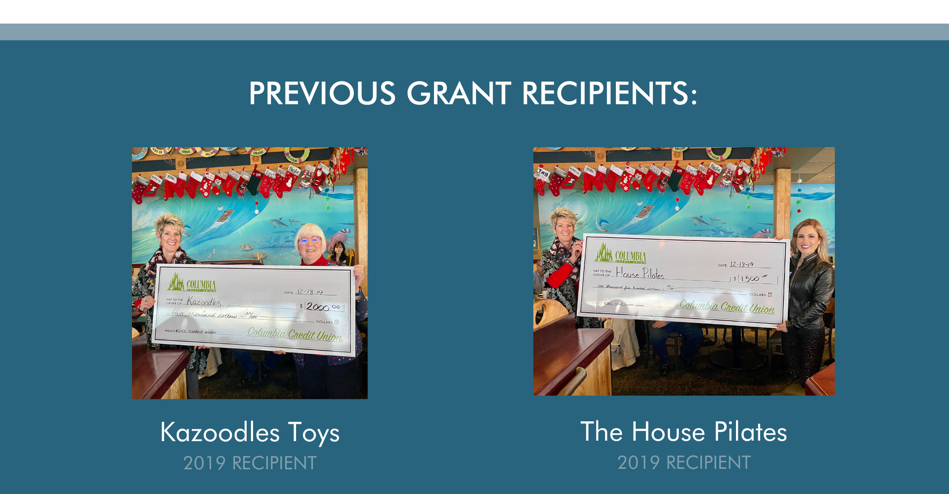 Small business grant program info donate